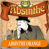 Extra etikett till Absinthe Orange, 90x90 mm